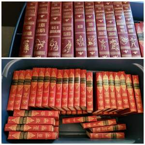 Lot #185 - 50 Volumes of Harvard Classics 1960 and 1960's Children's Classics 10 Book Set. All Great Condition