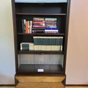 Lot # 50 - Fantastic Mid Century Modern MCM Bookcase * Johnson Furniture Co. Grand Rapids * Directional
