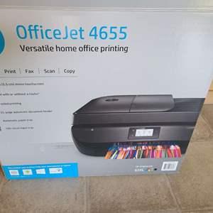 Lot # 68 - HP Officejet Printer 4655 * Wireless * Scan * Print * Copy