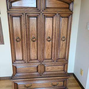 Lot # 70 - Quality Made HENREDON Armoire * Furniture