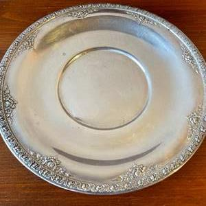 Lot # 78 - Wallace Sterling Silver Platter * 8.7 oz.