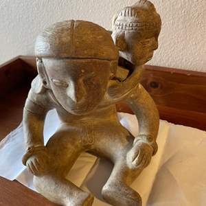 Lot # 95 - Collectible Figure * Clay * Terracotta * Vessel * Mayan