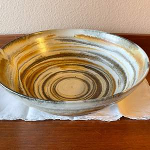Lot # 96 - Gorgeous Pottery Bowl * Signed
