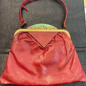Lot # 99 - Small Antique Red Handbag
