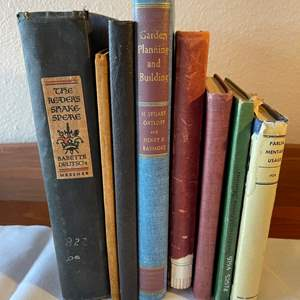 Lot # 100 - Eclectic Lot of Vintage and Unique Books * 1891 * 1925