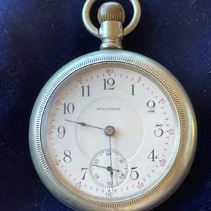 Lot # 101 - Vintage 1906 Waltham Pocket Watch
