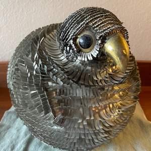 Lot # 117 - Hand Cut Metal Bird Figure