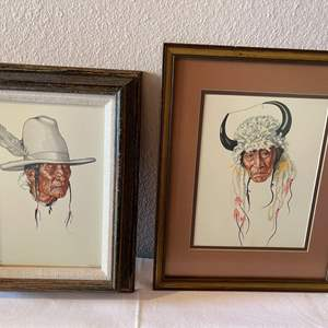 Lot # 127 - Native American Art by Winold Reiss