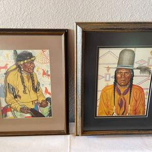 Lot # 128 - Native American Art by Winold Reiss