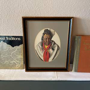 Lot # 129 - Native American Art by Winold Reiss * Native American Subject Books