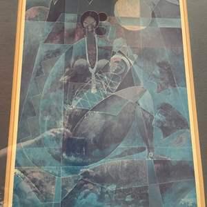 Lot # 135 - Navajo Mother & Child * WB Franklin 1988