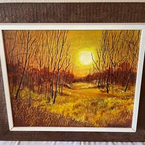 Lot # 136 - Signed Corey Winslow Original Framed Painting