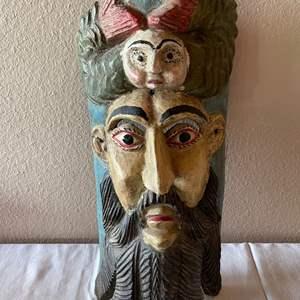 Lot # 139 - Wooden Mask