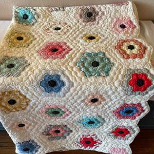 Lot # 146 - Twin Bed Size Homemade Quilt