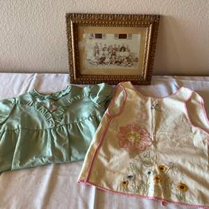 Lot # 177 - Vintage Children's Clothing and Photo