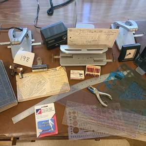 Lot # 198 - Desk supply lot