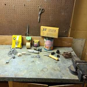 Lot # 207 - Vintage Tool Lot