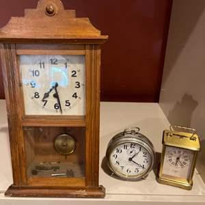 Lot # 209 - Vintage Clocks