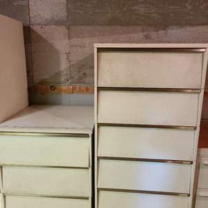 Lot # 216 - Mid Century Modern MCM  Stacking Cabinets * Dressers * Storage * Furniture