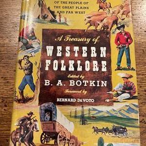 Lot # 236 - Vintage Book * Western Folklore