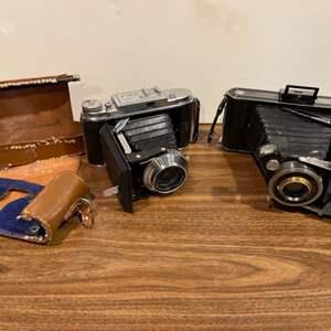 Lot # 250 -  2 Antique Cameras * Rolfix II * 1950's Folding Camera