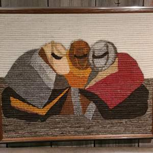 Lot #289 - Woven Art