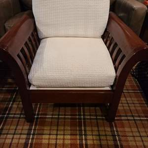 Lot #300 - Hickory Chair Arm Chair