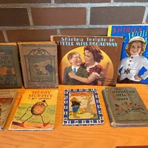 Lot #301 - Vintage Children's Books * Shirley Temple