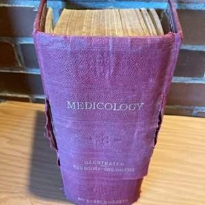 Lot #304 - 1906 Home Encyclopedia of Health * Medicology