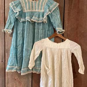 Lot #311 - Vintage Children's Dress and Nightgown * Clothing