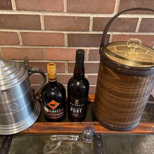 Lot #316 - Ice Buckets * Alcohol is a gift from the homeowner
