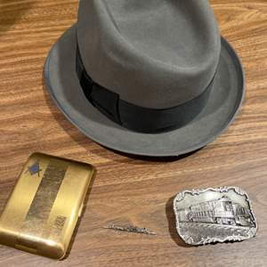 Lot # 341 - The Eagle Vintage Stetson Hat 7 1/8 * Ship Pin