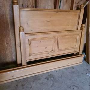 Lot # 343 - Full Bed frame