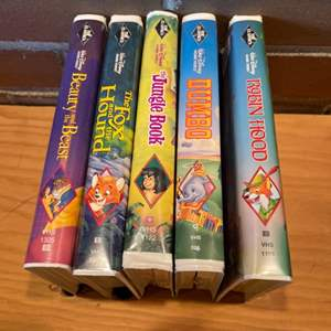 Lot # 345 - The Classics Black Diamond Disney VHS Selection