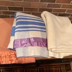 Lot # 349 - 3 Nice Blankets * 2 Wool * 1 Ralph Lauren