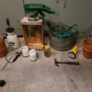Lot # 353 - Garden & Tool Lot