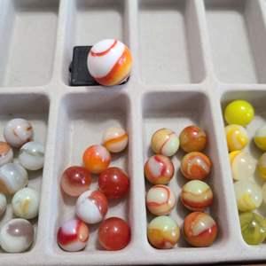 Lot # 369 - Cool Vintage Marbles