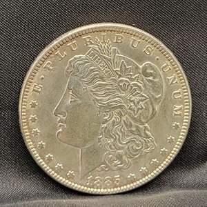 Lot 1 - 1885 Morgan SILVER Dollar