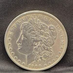 Lot 3 - 1900-O Morgan Silver Dollar