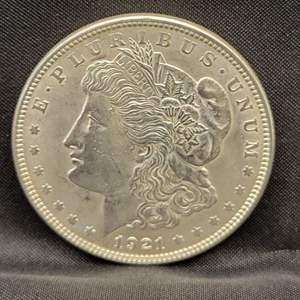 Lot 4 - 1921 Morgan SILVER Dollar