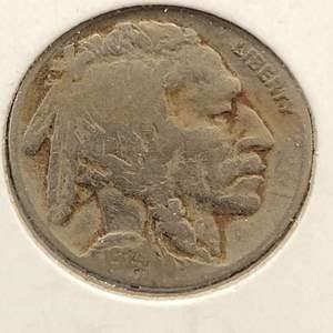 Lot 35 - 1924 Buffalo Nickel