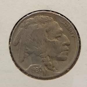 Lot 37 - 1930 Buffalo Nickel