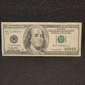 Lot 64 - 1999 STAR NOTE $100.00 United States of America Federal Reserve Note