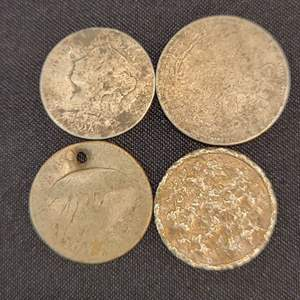 Lot 67 - Three SILVER Early 1900's Foreign Coins