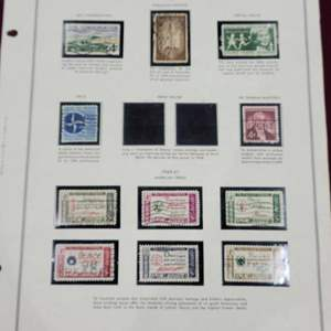Lot 100 - 1959 - 1961 Stamp Collection
