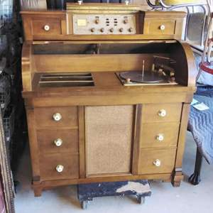 Lot #EL2 - 1961 'The New Englander' Stereophonic Radio Record Player L@@K!
