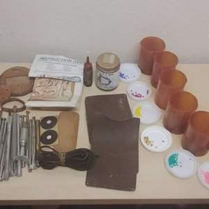 Lot #MW59 - Leather Tooling Lot