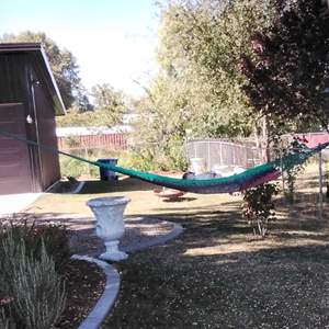 Lot #HW71 - Excellent Quality Hammock (Doll & Cushion Not Included)