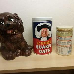 Lot #HW103 - Two Cookie Jars and Other