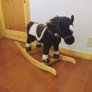 Lot #MW118 - Battery Operated Sound and Movement Rocking Horse